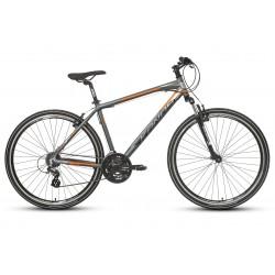 "Rower 28 KANDS CROSS STV-900 ALTUS M. grafit-pomarańczowy mat 19"""