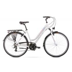 Rower 28 ROMET GAZELA 1 biało-różowy