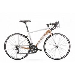 Rower 28 ROMET HURAGAN 1 biało-złoty 56cm