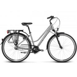 "Rower 28 KROSS TRANS 6.0 damski M 17"" grafit-srebrny poł. 2020"