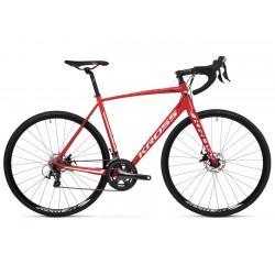 Rower 28 KROSS VENTO 4.0 L czerwono-biało-bordowy poł. 2020