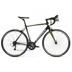 Rower 28 KROSS VENTO 2.0 L czarn-limon-biały mat 2020