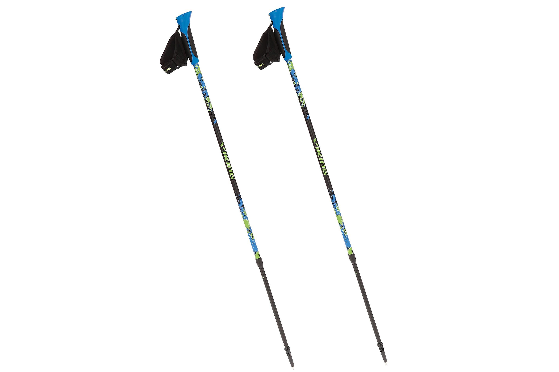 Kije trekkingowe VIKING Ruten Pro Nordic Walking 83-135cm czarno-nieb-ziel