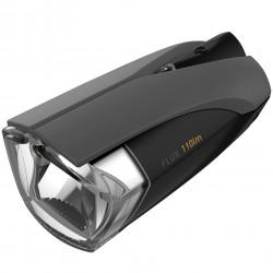 Lampa przednia KROSS FLUX /bateryjna/ 110lm, czarna