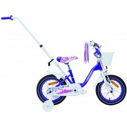 Rower 14'' SAVENO LILY fioletowo-biały 2020