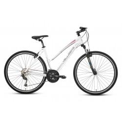 "Rower 28 VELLBERG EXPLORER 4.2 D cross DEORE biało-różowy mat. 19"""