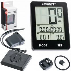 Licznik bezprzewodowy ROMET BKV 6005 12F dotykowy, czarny