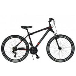 """Rower 26 KANDS ENERGY 700 ALU M MTB T TY300/steff 19"""" czarno-czerwony mat"""
