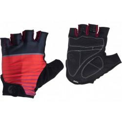 Rękawiczki ROGELLI HERO kr. czarno-czerwone M