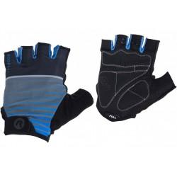 Rękawiczki ROGELLI HERO kr. czarno-niebieskie M