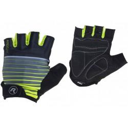 Rękawiczki ROGELLI HERO kr. czarno-fluor XL