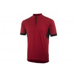 Koszulka ROGELLI PERUGIA 2.0 luźniejszy krój, 2XL czerwona