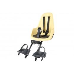 Fotelik dla dziecka BOBIKE GO MINI przedni lemon sorbet/żółto-czarny