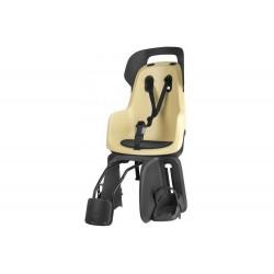 Fotelik dla dziecka BOBIKE GO 1P na ramę, lemon sorbet/czarno-żółty